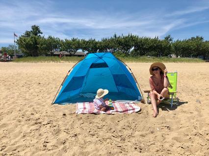 Beach Tent from Nantucket Baby Rentals