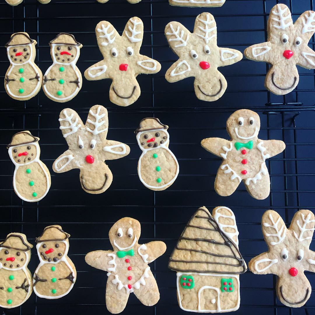 Gingerbread Men & Reindeer