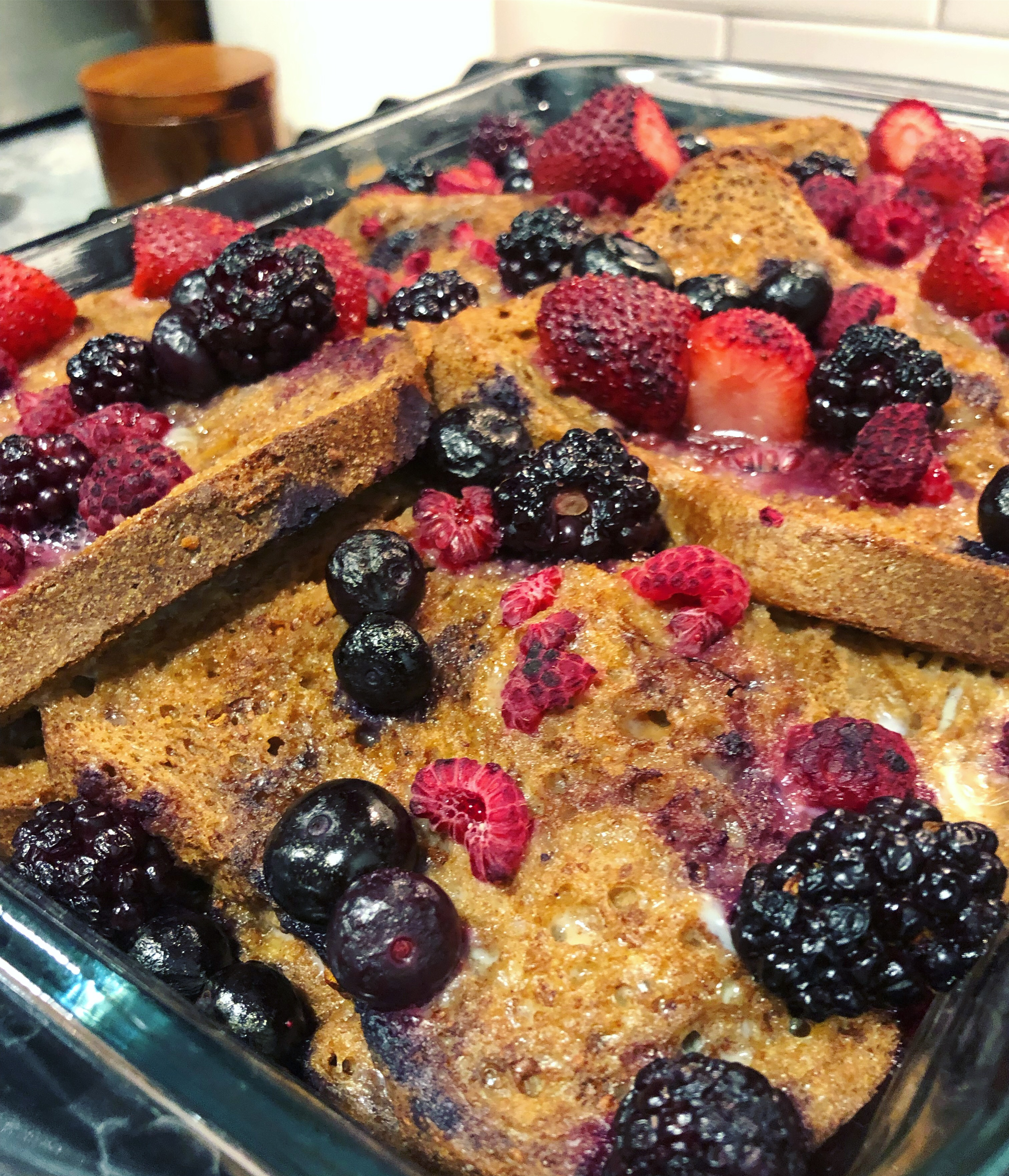 Stuffed Berry French Toast