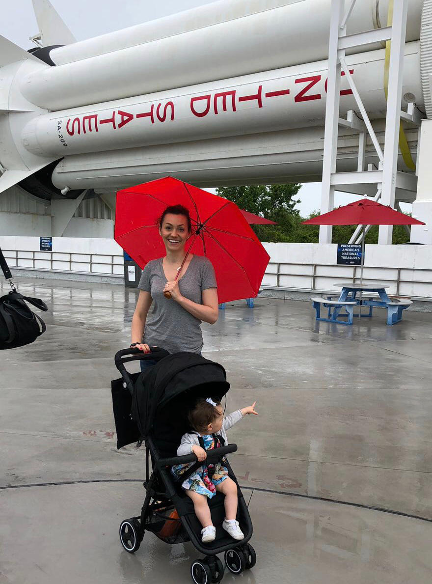 Rainy Day at Kennedy Space Center