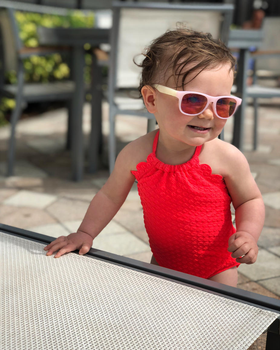 Pool Time at the DoubleTree Hilton