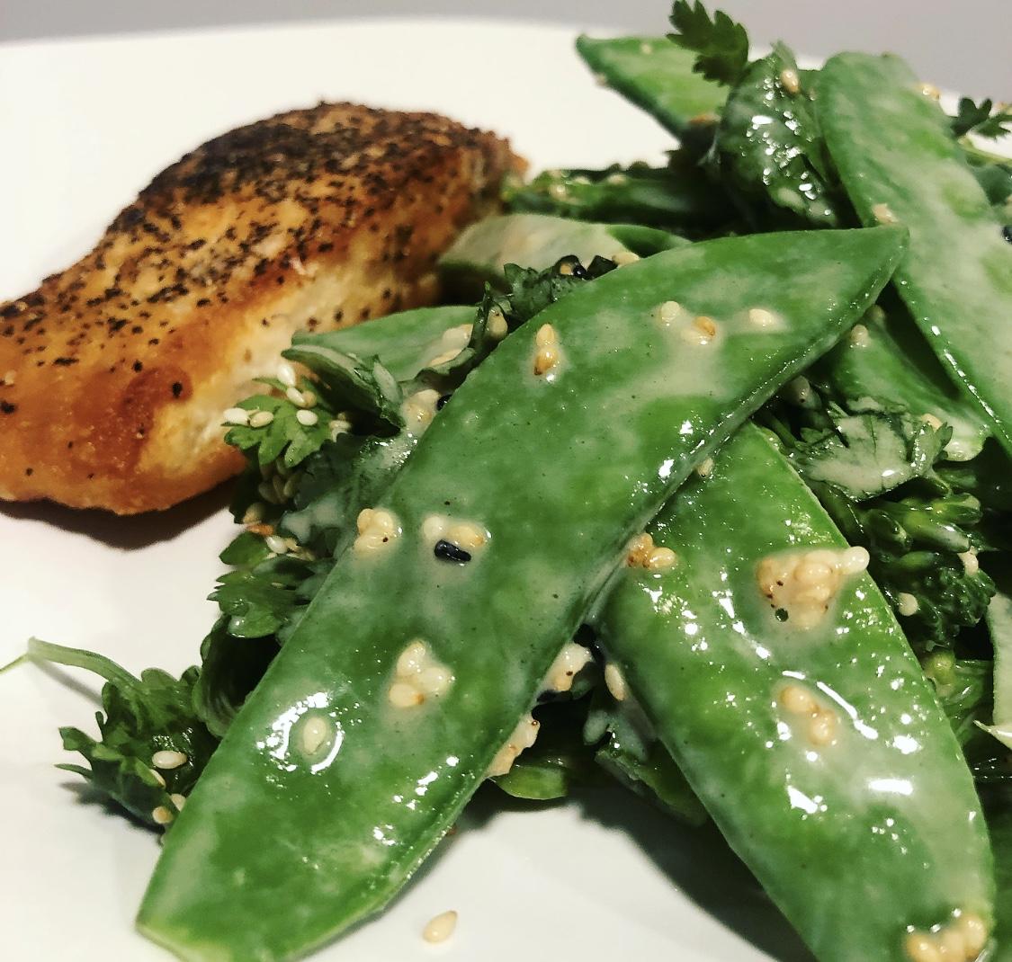 Broccoli and Sweet Sesame Salad